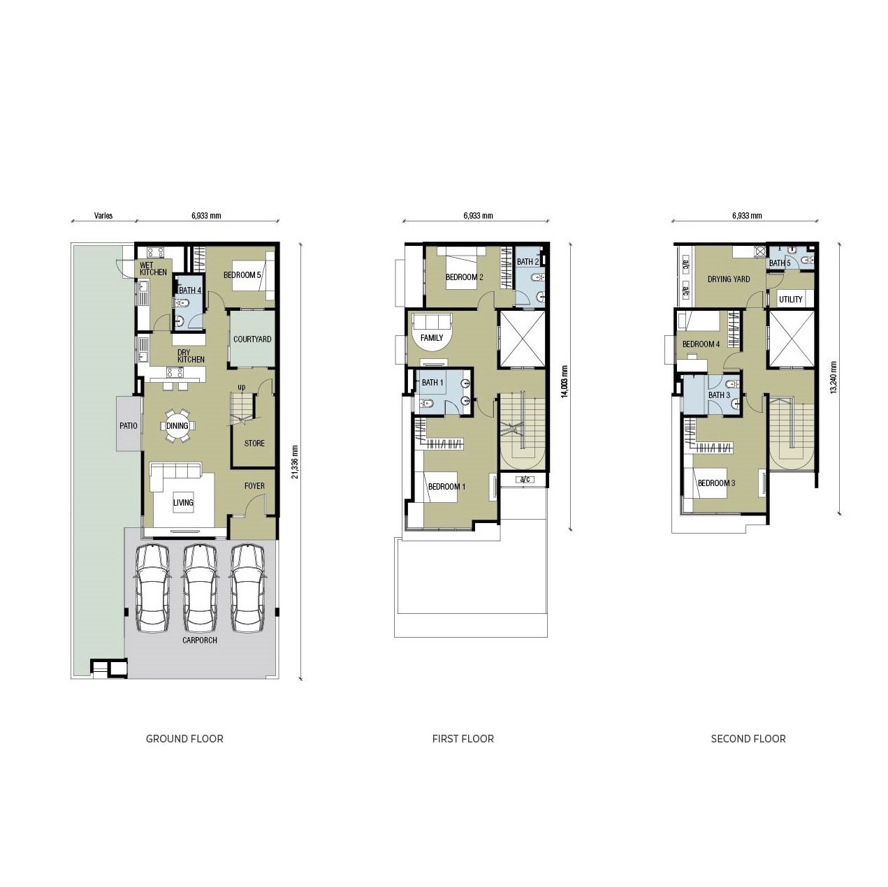 Project floor plan parkfield residences for Floor plan project